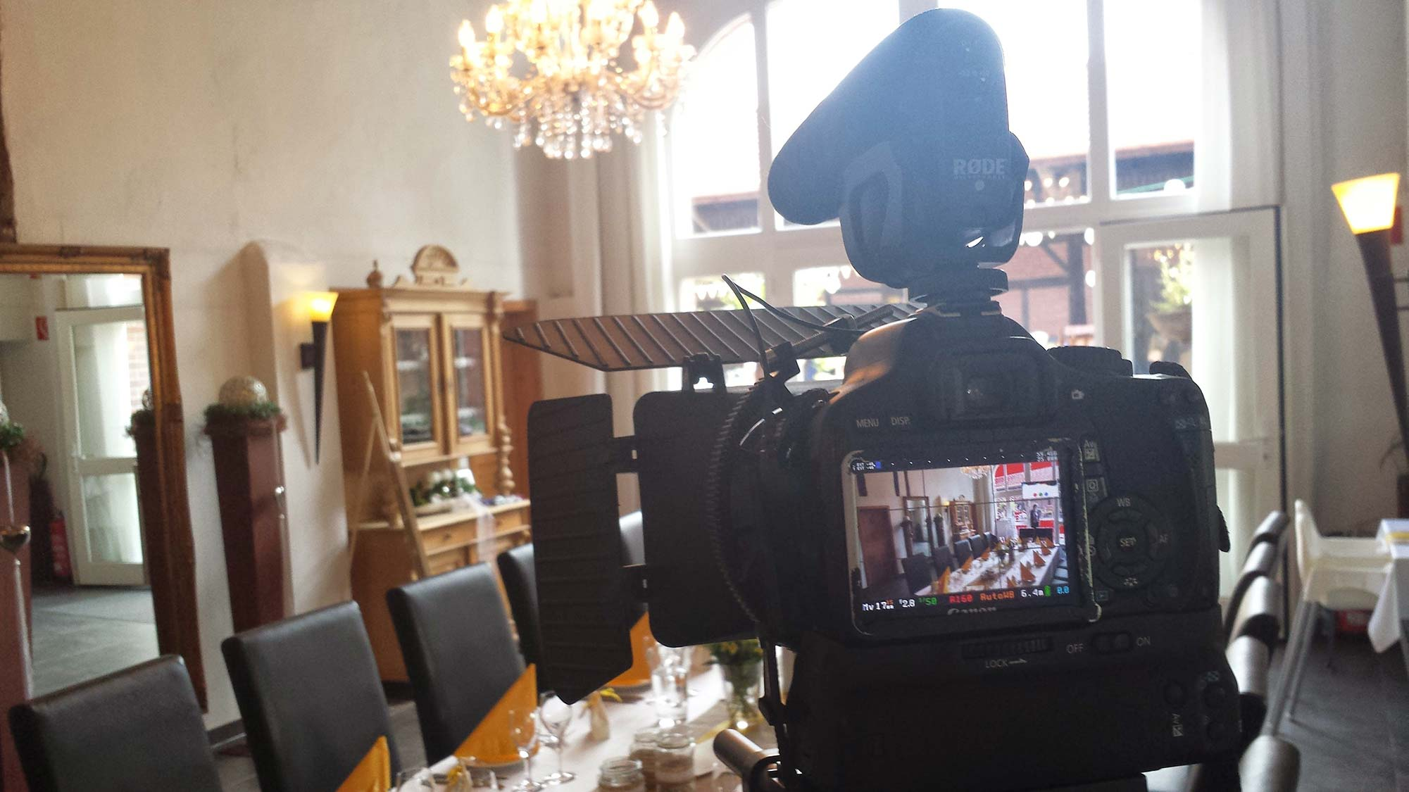 Shooting a Wedding Video in Germany!