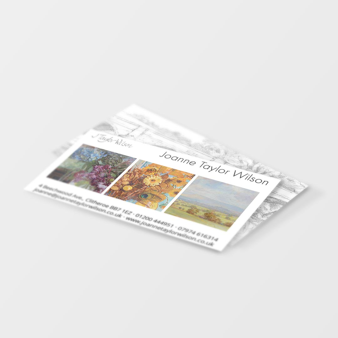 Business Card Design & Printing for Joanne Taylor Wilson