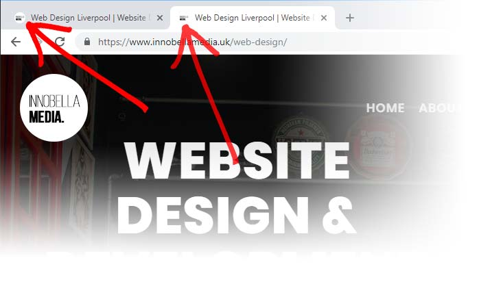 Website Design Favicon