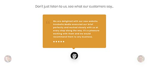 Customer Reviews on your Website